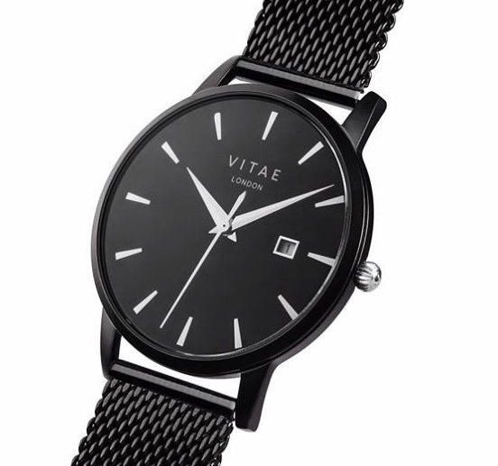 black owned watches by Vitae London