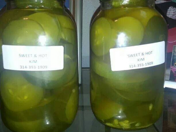 KIM'S Twisted Pickles
