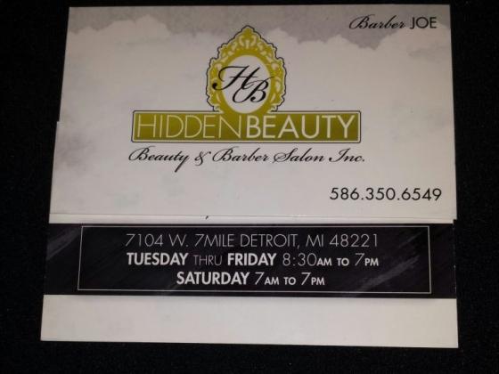 Hidden Beauty and Barber Salon